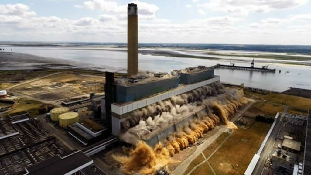 Kingsnorth Coal Power Station